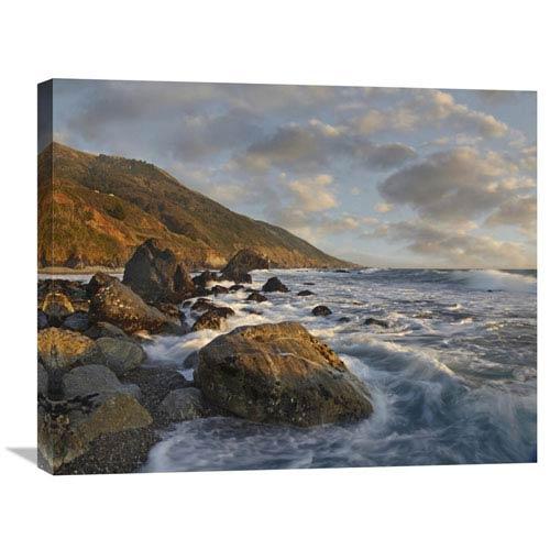 Global Gallery Beach At Kirk Creek Beach, Big Sur, California By Tim Fitzharris, 22 X 28-Inch Wall Art