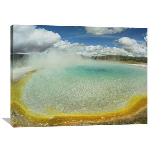 Global Gallery Sunset Lake, Yellowstone National Park, Wyoming By Tim Fitzharris, 30 X 40-Inch Wall Art
