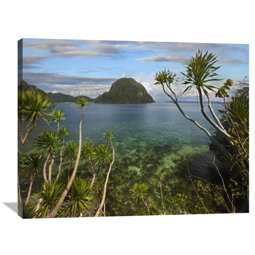 Global Gallery Cadlao Island Near El Nido, Palawan, Philippines By Tim Fitzharris, 30 X 40-Inch Wall Art