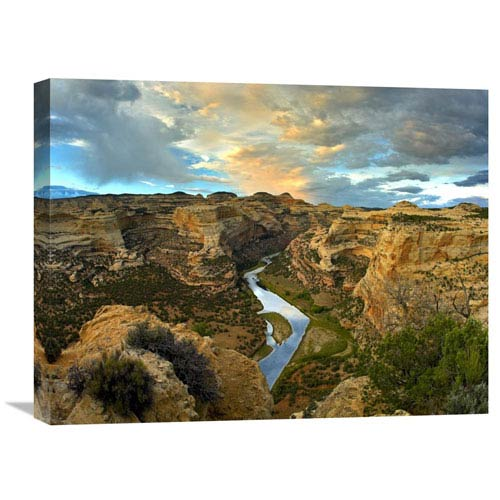 Global Gallery Yampa River, Dinosaur National Monument, Colorado By Tim Fitzharris, 18 X 24-Inch Wall Art