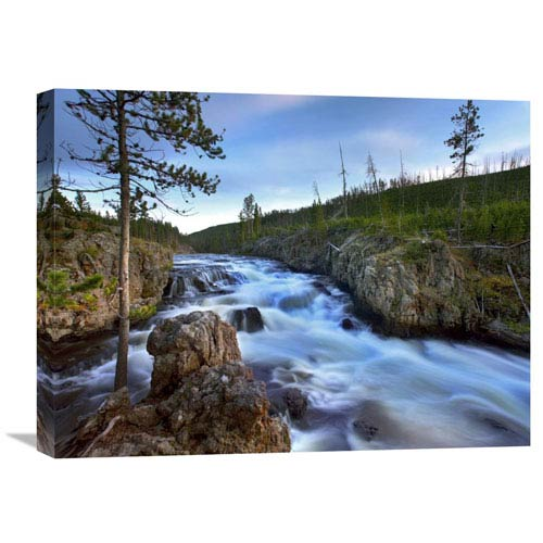 Global Gallery Firehole River, Yellowstone National Park, Wyoming By Tim Fitzharris, 18 X 24-Inch Wall Art