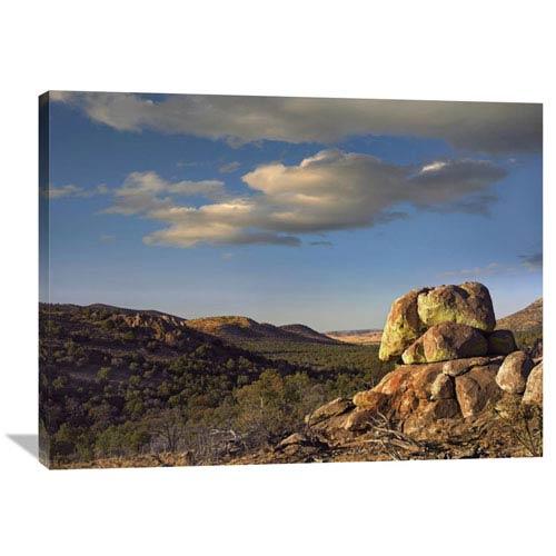 Global Gallery Rockpile, Davis Mountains, Chihuahuan Desert, Texas By Tim Fitzharris, 30 X 40-Inch Wall Art