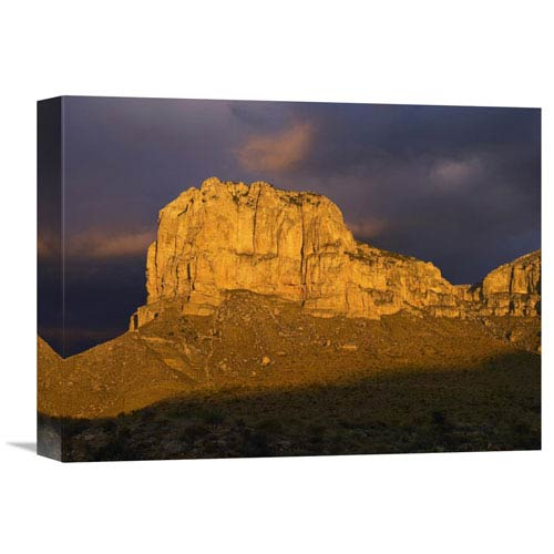 Global Gallery El Capitan, Guadalupe Mountains National Park, Texas By Tim Fitzharris, 12 X 16-Inch Wall Art