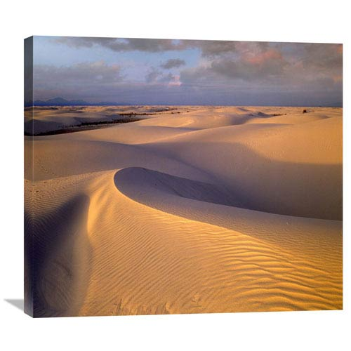 Global Gallery Sand Dunes, White Sands National Monument, New Mexico By Tim Fitzharris, 26 X 30-Inch Wall Art