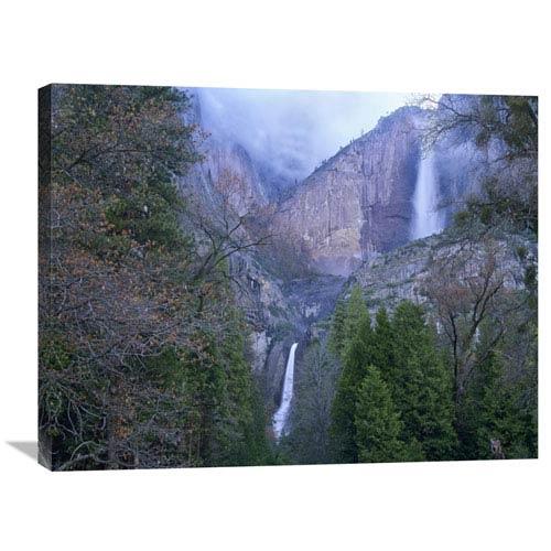 Global Gallery Yosemite Falls In Spring, Yosemite National Park, California By Tim Fitzharris, 24 X 32-Inch Wall Art