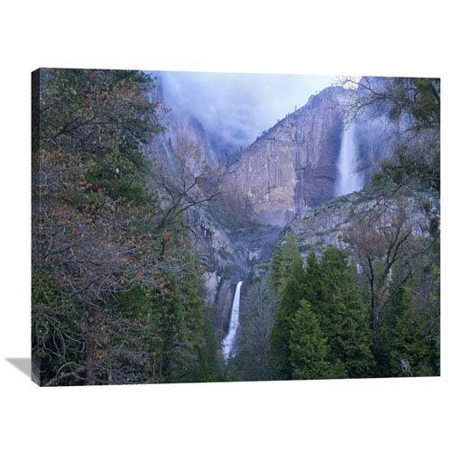 Global Gallery Yosemite Falls In Spring, Yosemite National Park, California By Tim Fitzharris, 30 X 40-Inch Wall Art