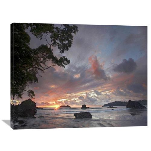 Global Gallery Beach And Coastline, Manuel Antonio National Park, Costa Rica By Tim Fitzharris, 30 X 40-Inch Wall Art