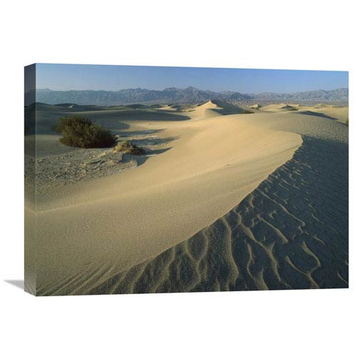 Global Gallery Mesquite Flat Sand Dunes, Death Valley National Park, California By Tim Fitzharris, 18 X 24-Inch Wall Art