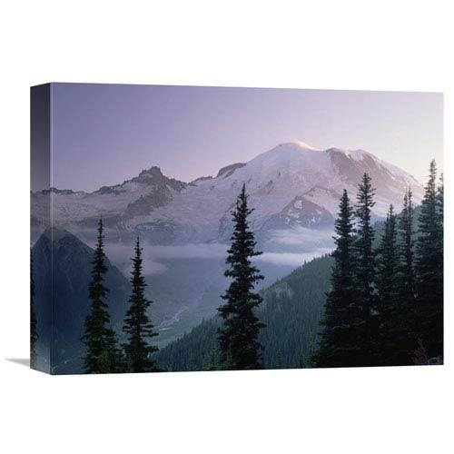 Global Gallery Mt Rainier As Seen At Sunrise, Mt Rainier National Park, Washington By Tim Fitzharris, 12 X 16-Inch Wall Art