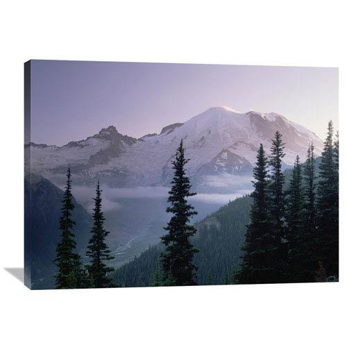 Mt Rainier As Seen At Sunrise, Mt Rainier National Park, Washington By Tim Fitzharris, 30 X 40-Inch Wall Art
