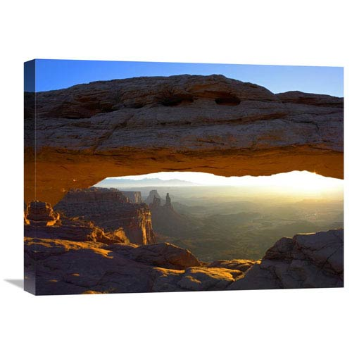 Global Gallery Mesa Arch At Sunset From The Mesa Arch Trail, Canyonlands National Park, Utah By Tim Fitzharris, 18 X 24-Inch