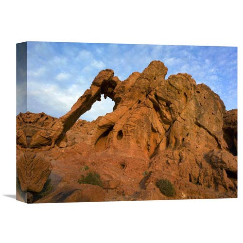 Global Gallery Elephant Rock, A Unique Sandstone Formation, Valley Of Fire State Park, Nevada By Tim Fitzharris, 12 X 16-Inch