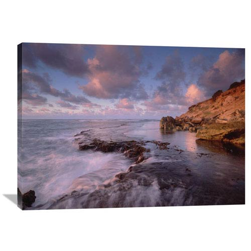 Global Gallery Dawn From The Base Of Makewehi Cliffs Near Shipwreck Beach, Keoneloa Bay, Kauai, Hawaii By Tim Fitzharris, 30