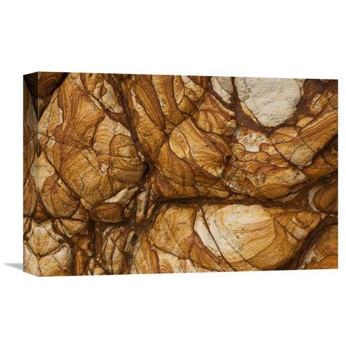 Global Gallery Volcanic Rock, Onawe, Banks Peninsula, Canterbury, New Zealand By Colin Monteath, 12 X 18-Inch Wall Art