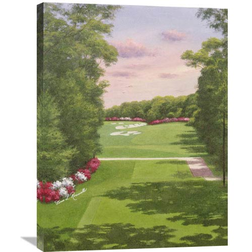 Global Gallery 4Th Hole Bethpage Black By Diane Romanello, 24 X 32-Inch Wall Art