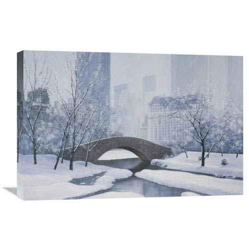 Global Gallery The Plaza By Diane Romanello, 30 X 20-Inch Wall Art