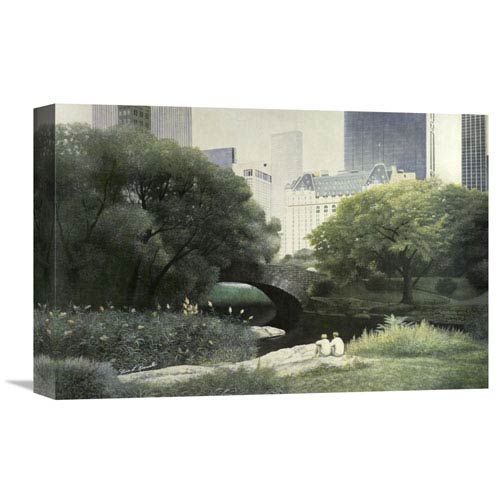 Global Gallery Summer Days By Diane Romanello, 18 X 12-Inch Wall Art