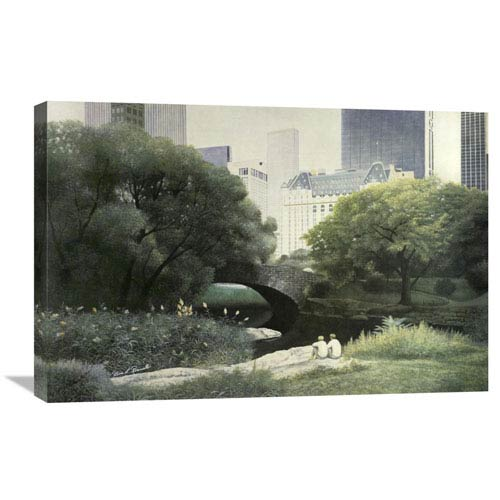 Global Gallery Summer Days By Diane Romanello, 30 X 20-Inch Wall Art