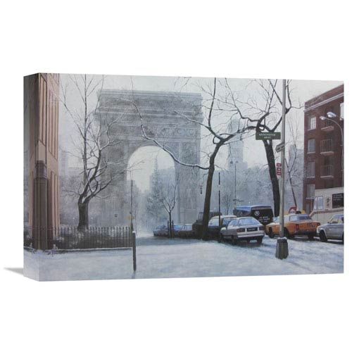 Global Gallery Wash Square By Diane Romanello, 18 X 12-Inch Wall Art