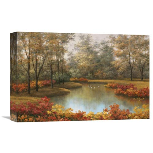 Global Gallery Beauty Of Autumn By Diane Romanello, 18 X 12-Inch Wall Art
