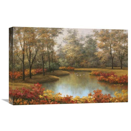 Global Gallery Beauty Of Autumn By Diane Romanello, 24 X 16-Inch Wall Art