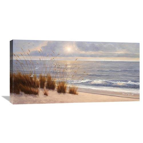 Global Gallery Seashore By Diane Romanello, 36 X 18-Inch Wall Art