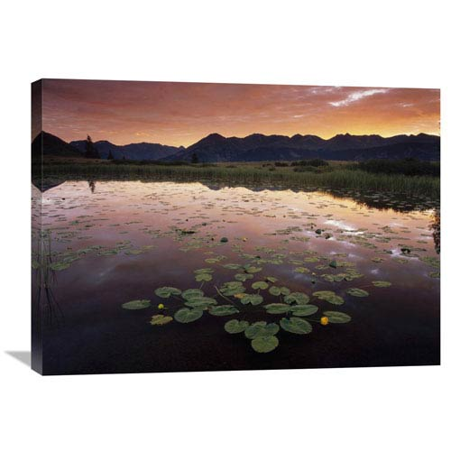 Global Gallery Sunrise Over Granadier Range, Molas Pass, Weminuche Wilderness, Colorado By Tim Fitzharris, 24 X 32-Inch Wall