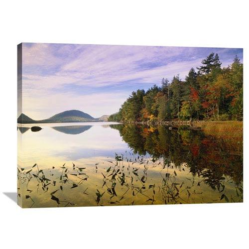 Global Gallery Eagle Lake, Mount Desert Island, Acadia National Park, Maine By Tim Fitzharris, 30 X 40-Inch Wall Art