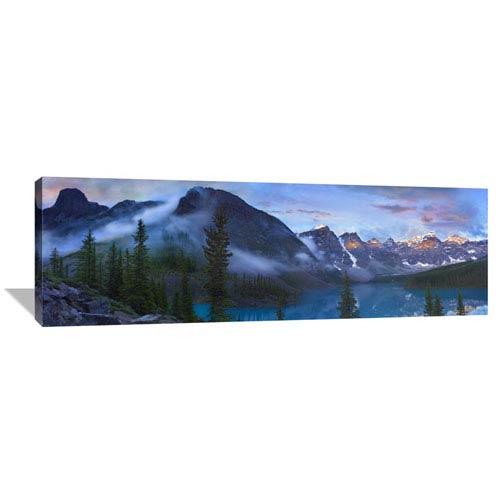 Global Gallery Wenkchemna Peaks And Moraine Lake, Valley Of Ten Peaks, Banff Np, Canada By Tim Fitzharris, 18 X 54-Inch Wall