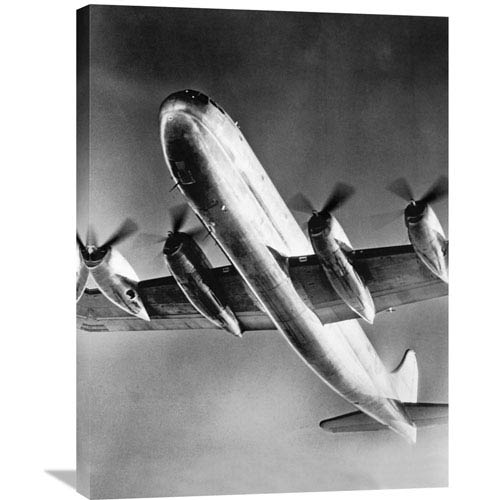 Global Gallery View Of Large Airplane In Flight By Philip Gendreau, 24 X 32-Inch Wall Art