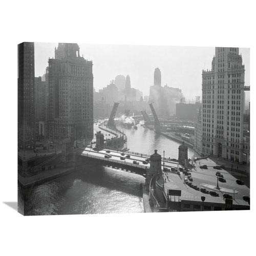 Global Gallery Chicago, 1935 By Anonymous, 32 X 24-Inch Wall Art
