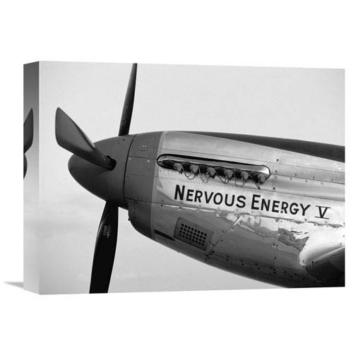 Global Gallery Fighter Plane Nose Art I By Paul Bowen, 16 X 12-Inch Wall Art