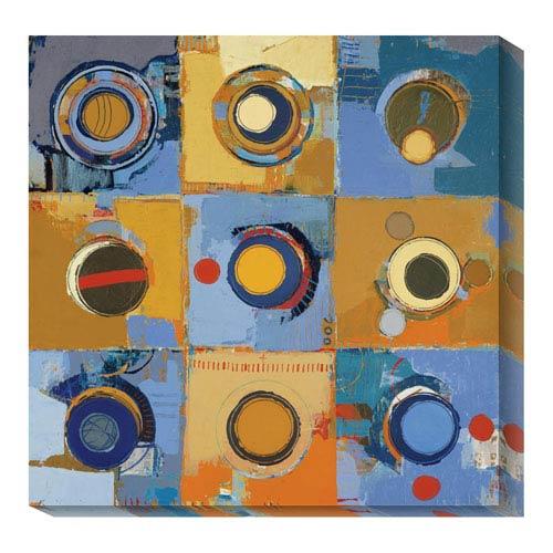 Global Gallery Fibonacci 12 by Jylian Gustlin: 20 x 20 Canvas Giclees