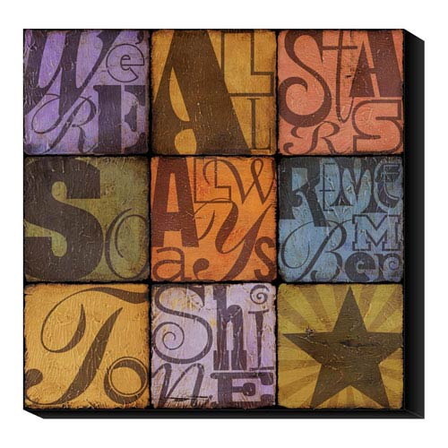 Global Gallery Shine by Suzanna Anna: 20 x 20 Canvas Giclees