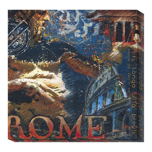 Global Gallery Rome by Julie Ueland: 20 x 20 Canvas Giclees