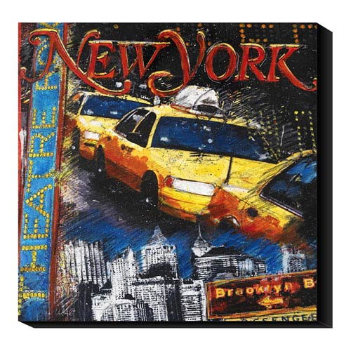 Global Gallery New York by Julie Ueland: 36 x 36 Canvas Giclees