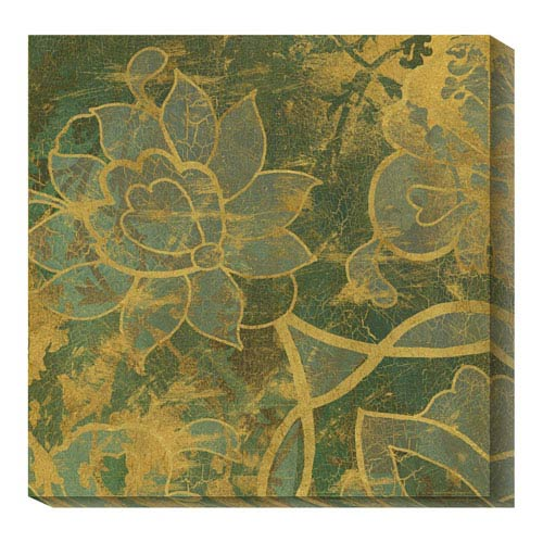 Global Gallery Persian Tile II by Eloise Ball: 36 x 36 Canvas Giclees