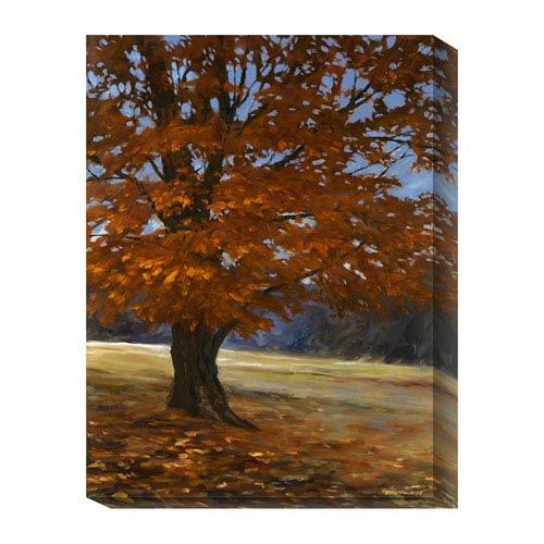 Global Gallery Fall Maple by Bruce Braithwaite: 18 x 24 Canvas Giclees