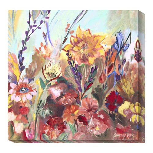 Global Gallery First Day of Spring by Joan Elan Davis: 36 x 36 Canvas Giclees