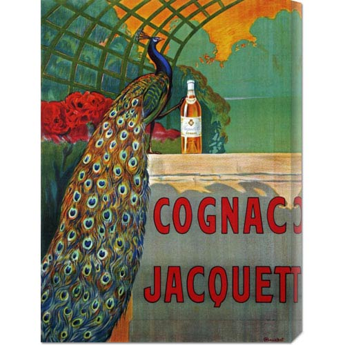 Global Gallery Cognac Jacquet by F. Bouchet: 21.9 x 30 Canvas Giclees, Wall Art