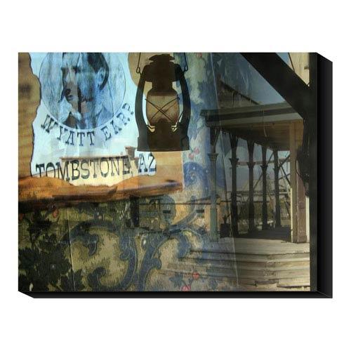 Global Gallery Wyatt Earp by Suzanne Silk: 24 x 20 Canvas Giclees