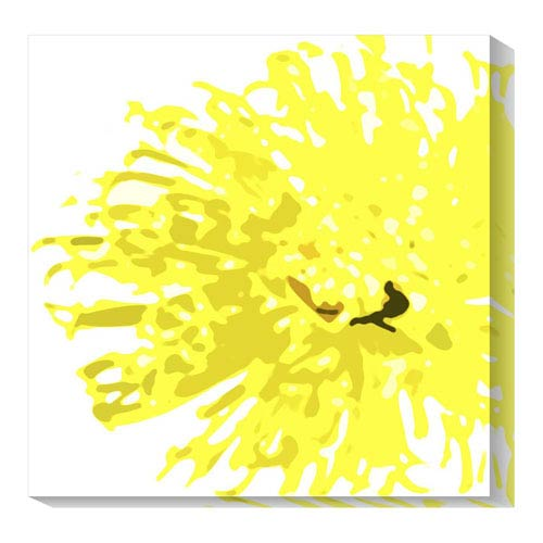 Global Gallery Pop flower VI by Michael Banks: 20 x 20 Canvas Giclees