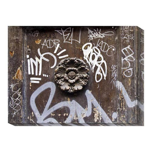 Global Gallery Graffiti Venice I by Linda Omelianchuk: 32 x 24 Canvas Giclees