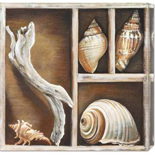 Global Gallery From the Ocean I by Ted Broome: 24 x 24 Canvas Giclees, Wall Art