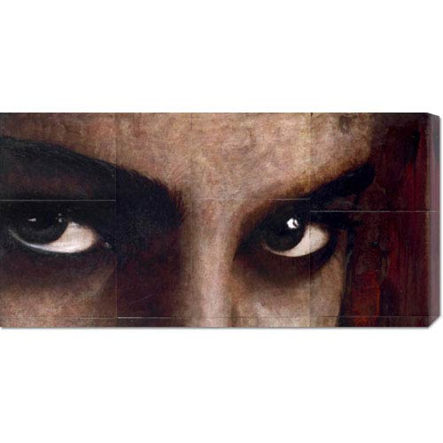 Global Gallery Sguardo di Donna by Massimo Sottili: 36 x 18 Canvas Giclees, Wall Art