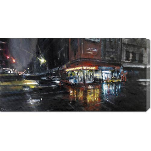 Global Gallery Harlem Street by Paolo Ottone: 36 x 18 Canvas Giclees, Wall Art