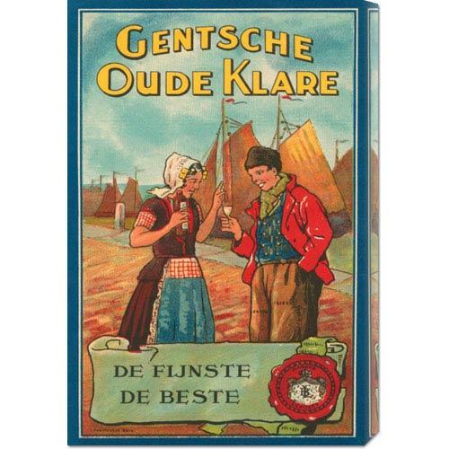 Global Gallery Gentsche Oude Klare: 22 x 14.74 Canvas Giclees, Wall Art