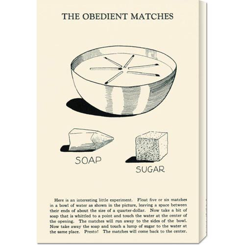 Global Gallery The Obedient Matches: 22 x 14.74 Canvas Giclees, Wall Art