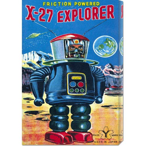 Global Gallery X-27 Explorer: 22 x 14.74 Canvas Giclees, Wall Art