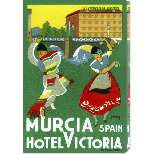Global Gallery Murcia Hotel, Valencia Spain: 20.1 x 30 Canvas Giclees, Wall Art